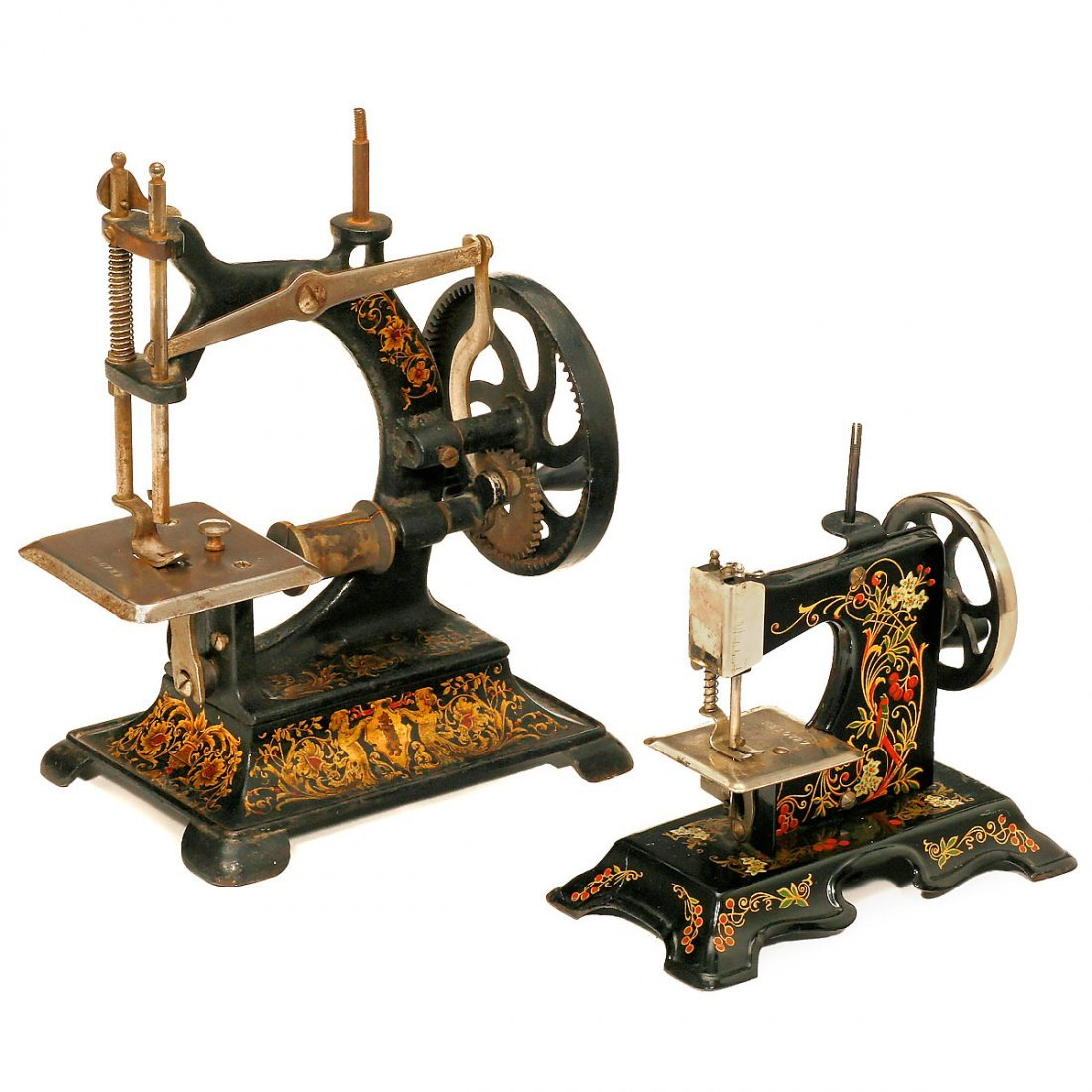 2 Toy Sewing Machines, c. 1920