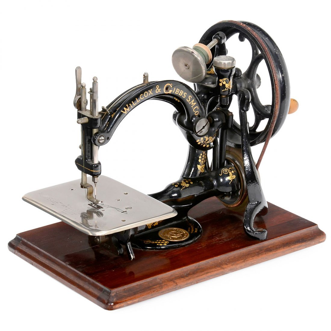 Willcox & Gibbs Sewing Machine, 1872