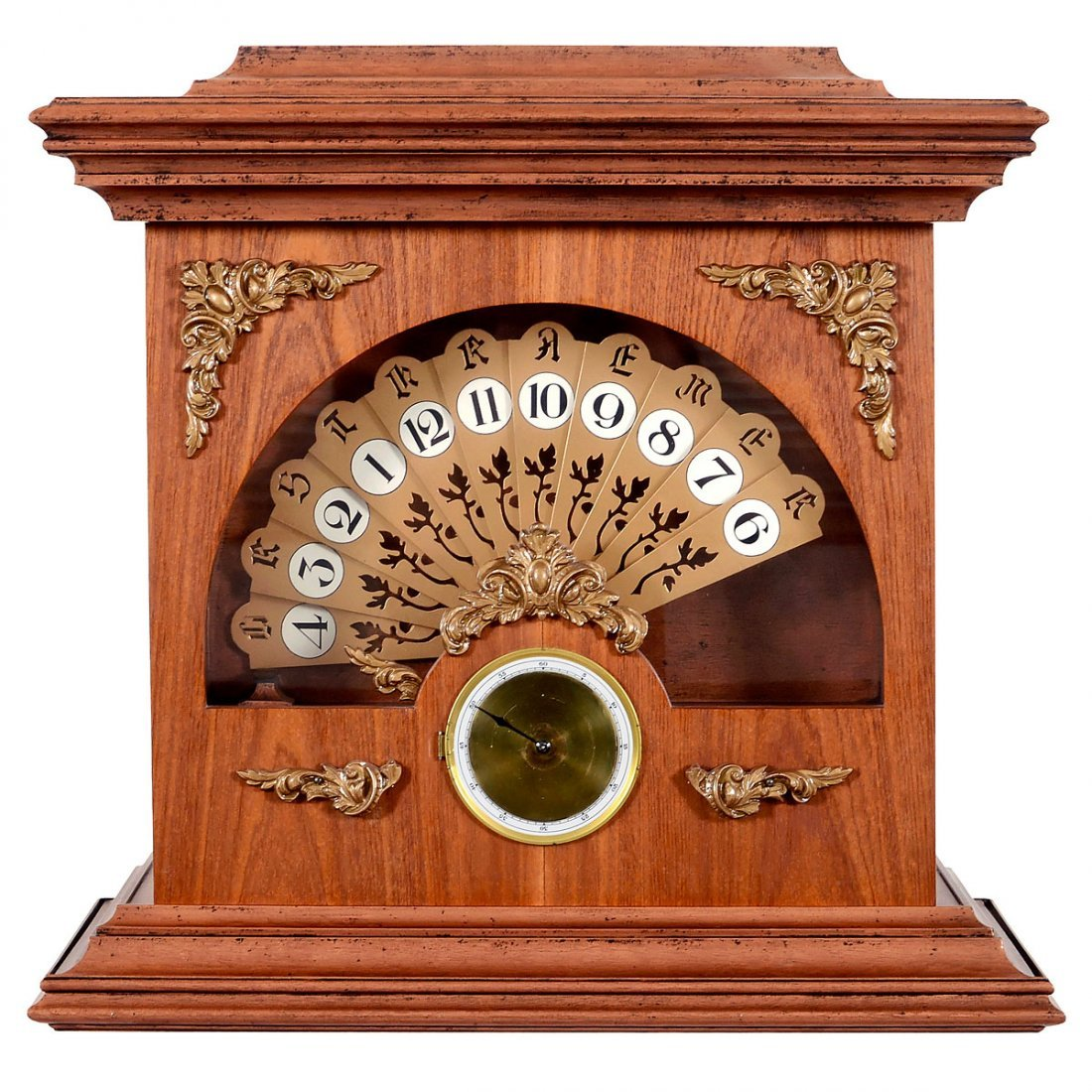 Unusual Fan Clock
