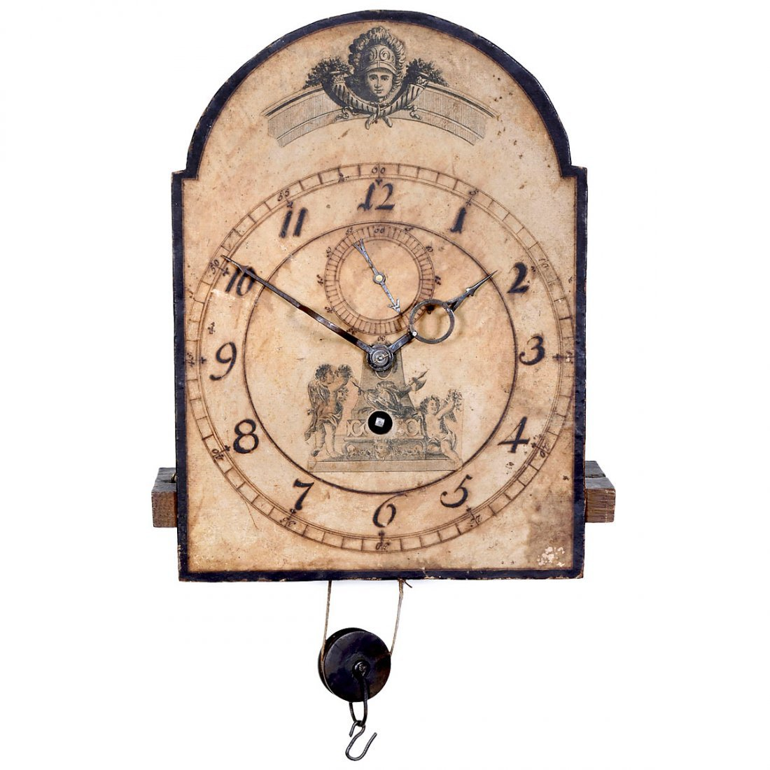 Southern German Longcase Clock Movement, c. 1760