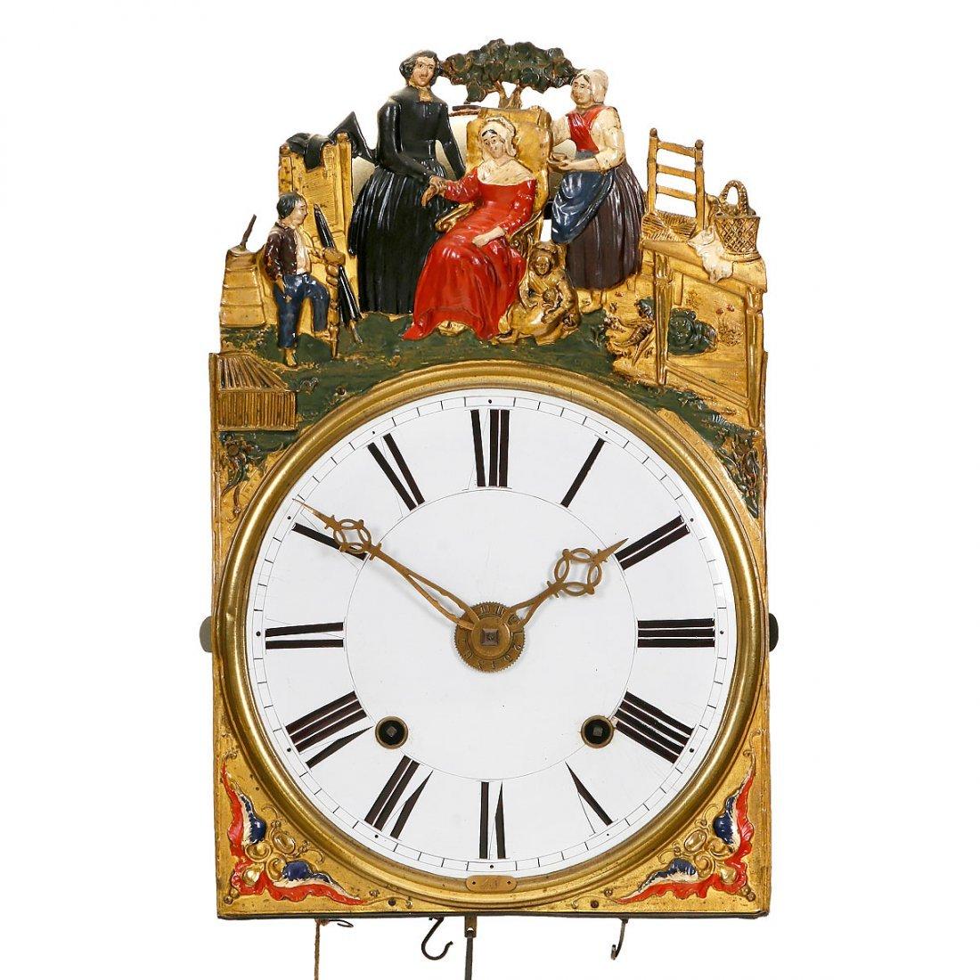 Comtoise with Alarm, c. 1850
