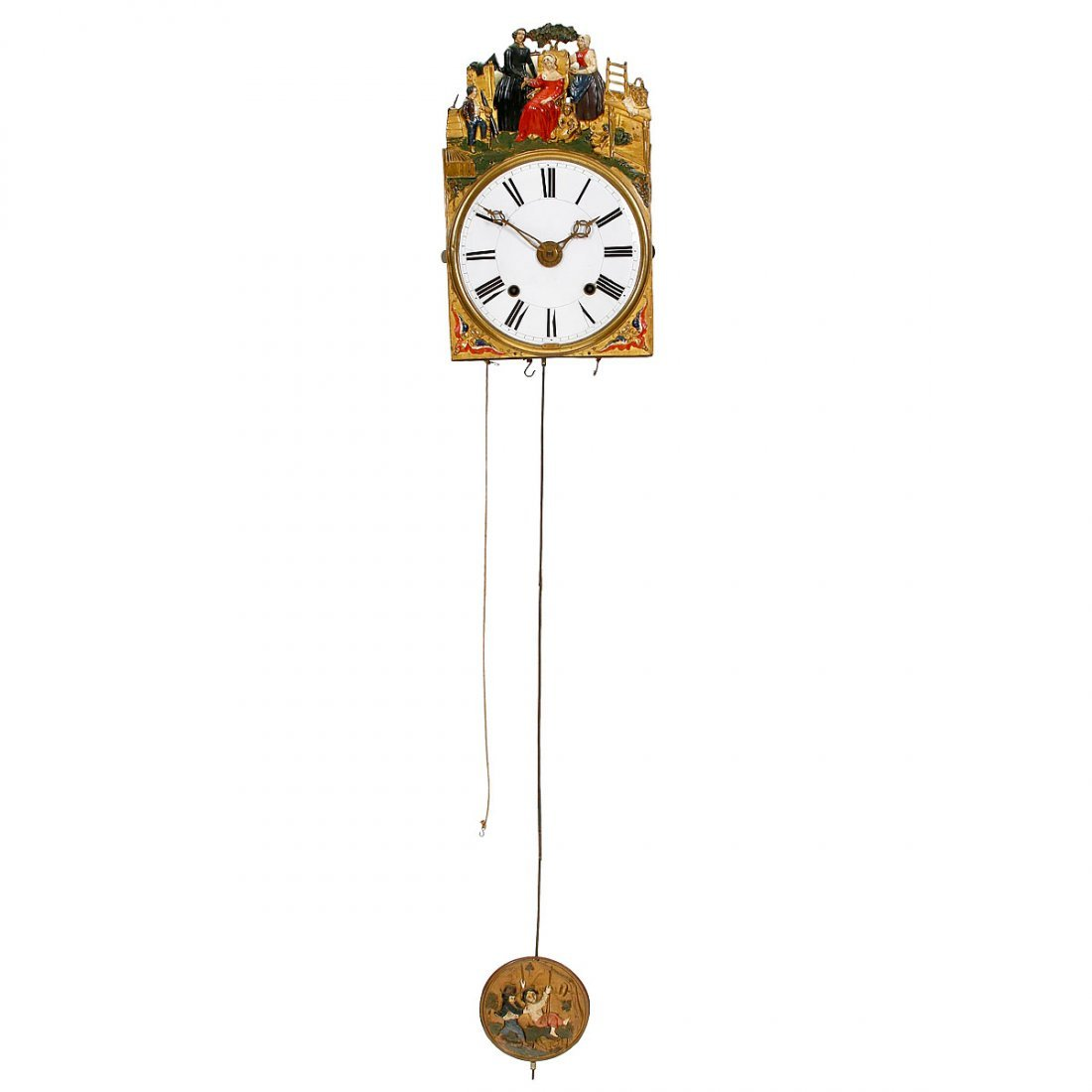 Comtoise with Alarm, c. 1850 - 2