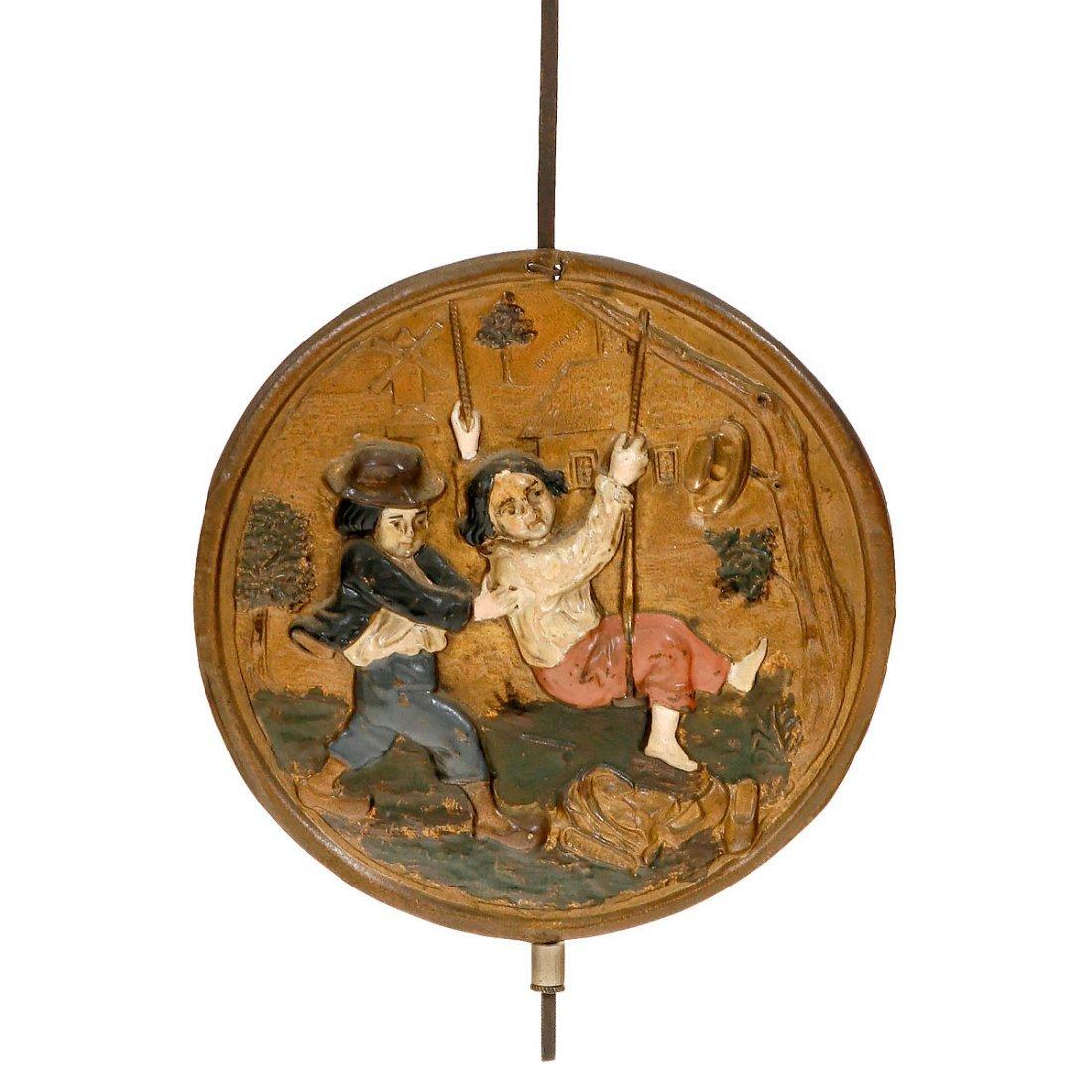 Comtoise with Alarm, c. 1850 - 3