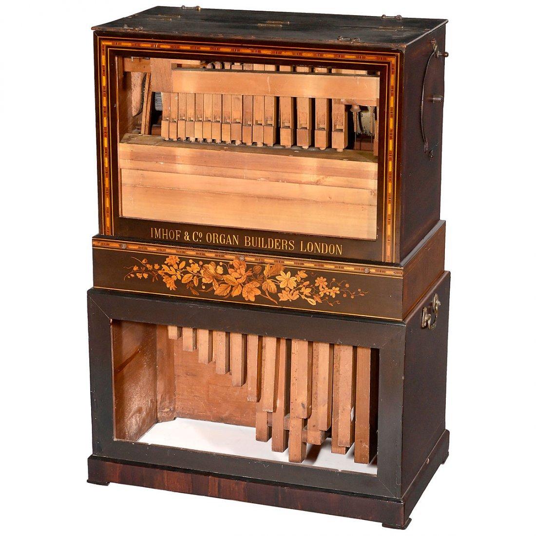Barrel Organ by Imhof & Mukle, c. 1870 - 2