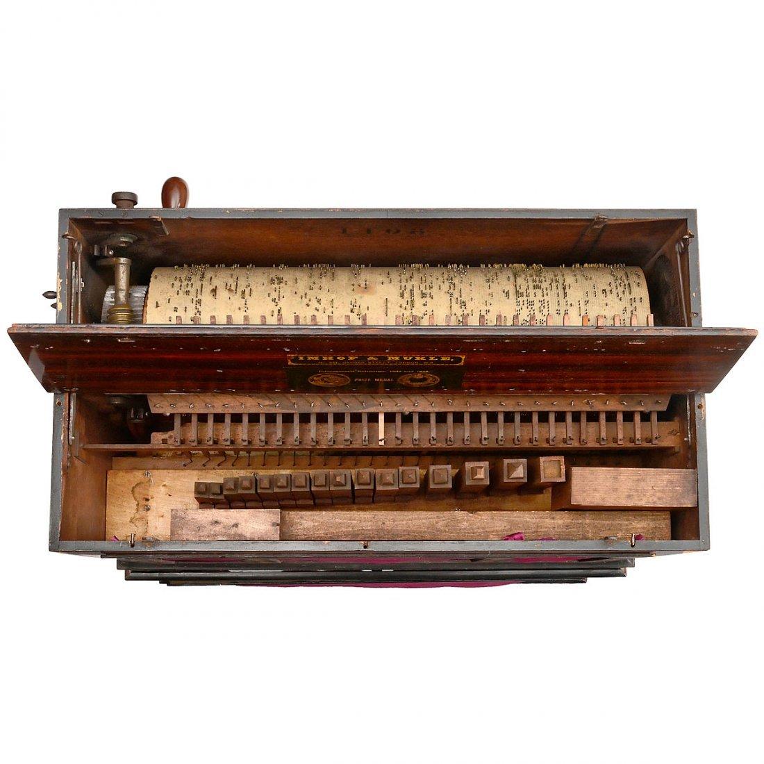 Barrel Organ by Imhof & Mukle, c. 1870 - 3