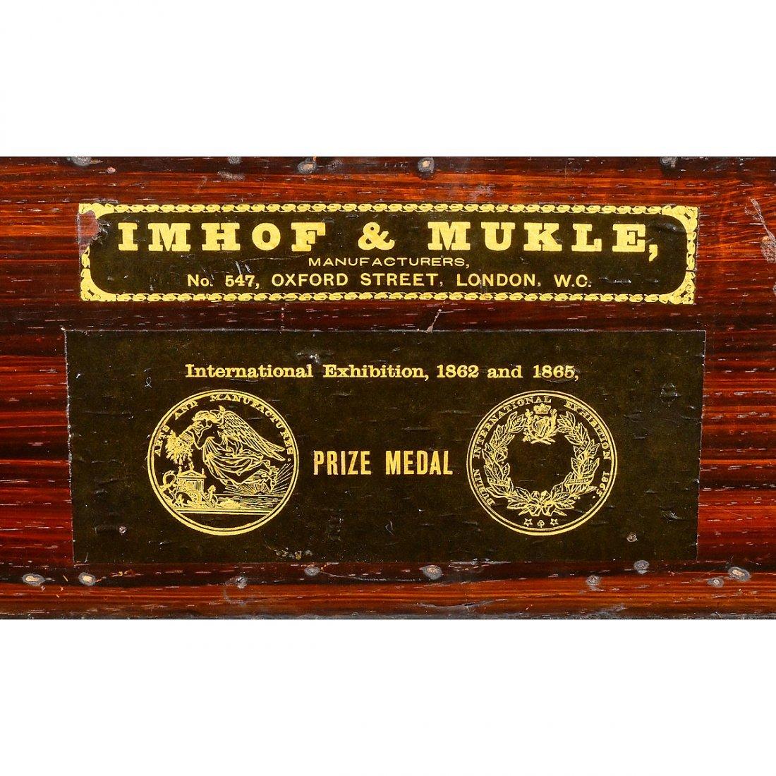 Barrel Organ by Imhof & Mukle, c. 1870 - 4