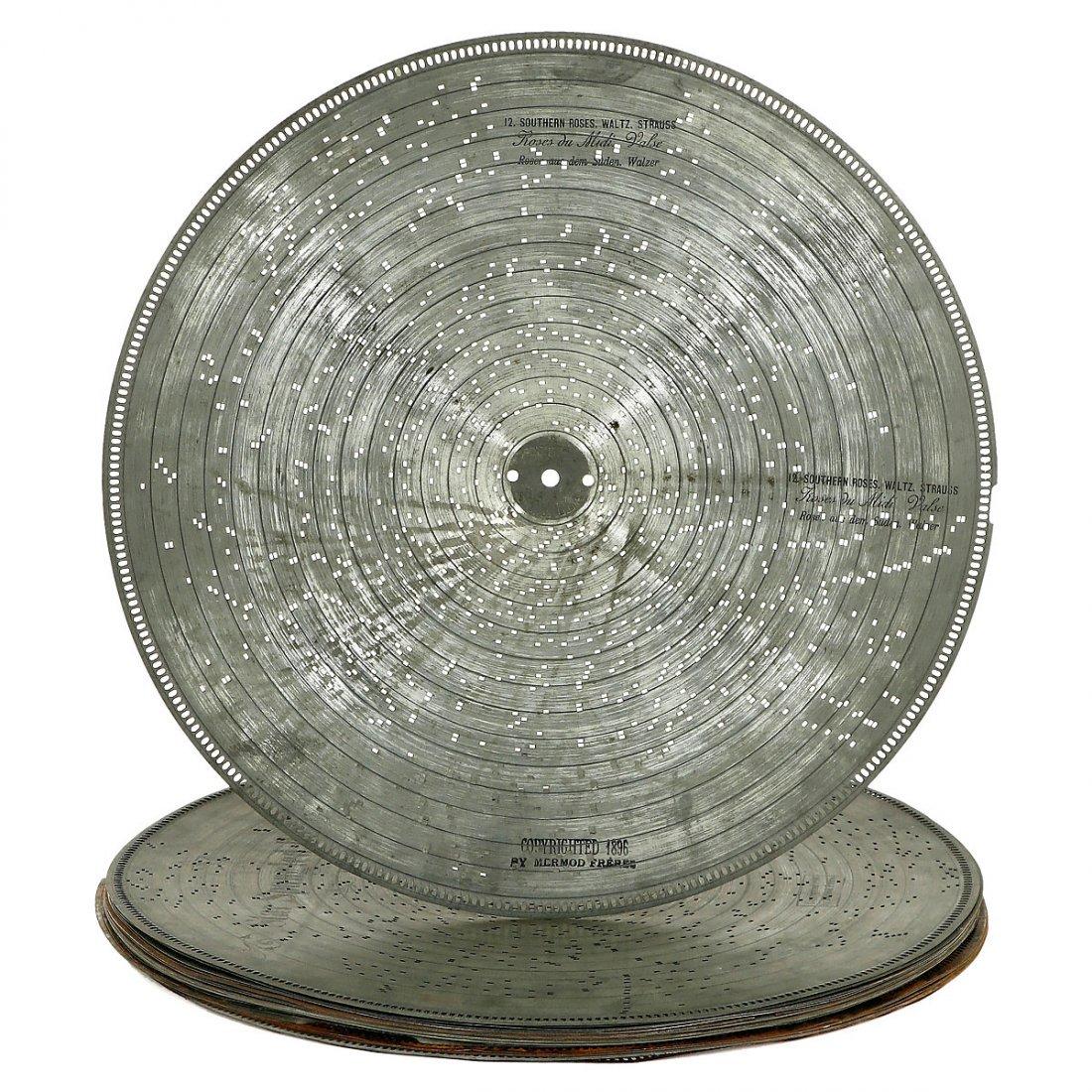 30 Stella Discs Ø 17 ¼ inch, c. 1900