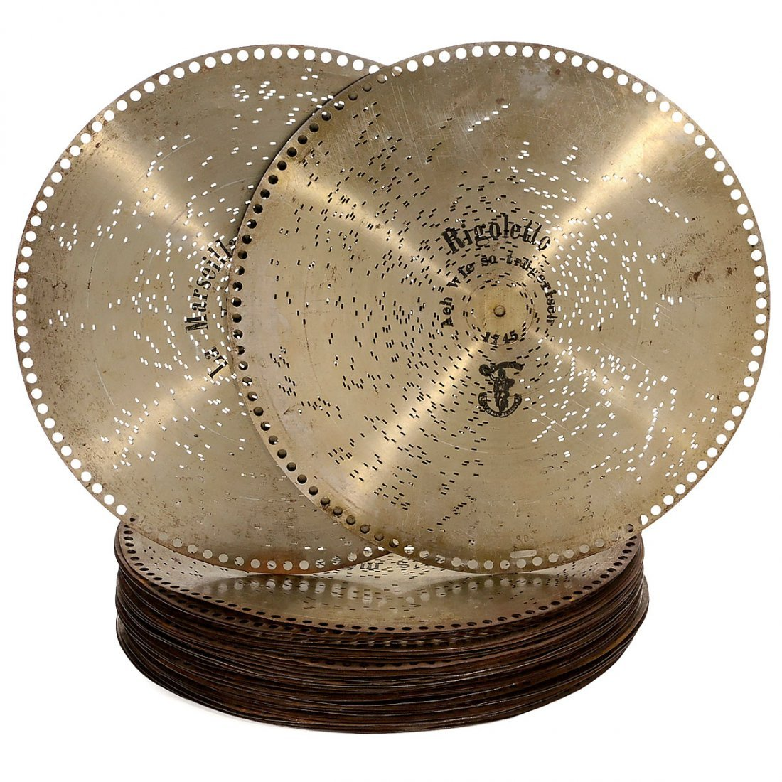 "37 ""Polyphon"" Ø 15¾ in. Discs"