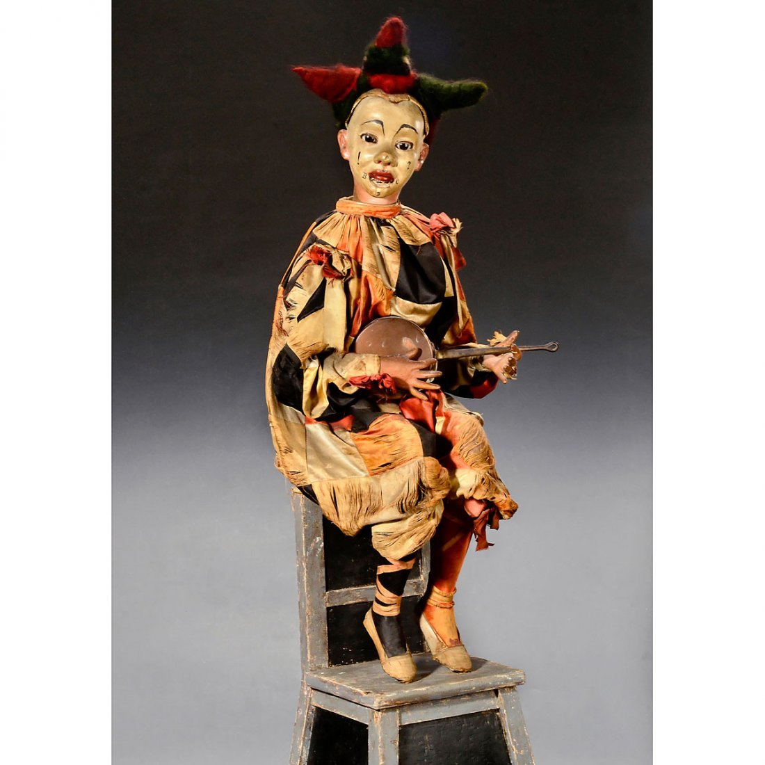 Eccentric Clown Musical Automaton by Gustave & Henry