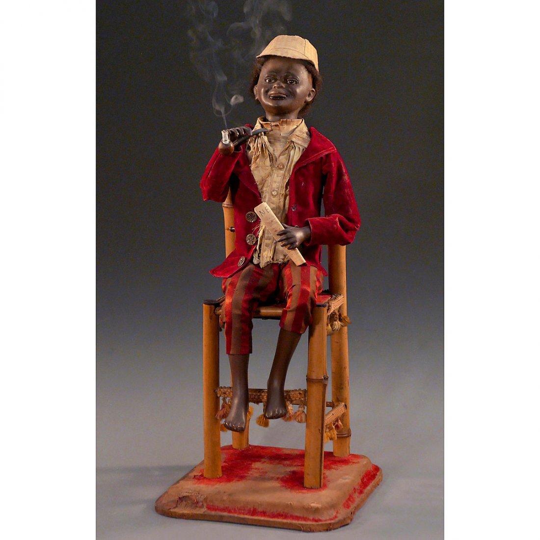 Nègre Fumeur Automaton by Roullet et Decamps, c. 1910