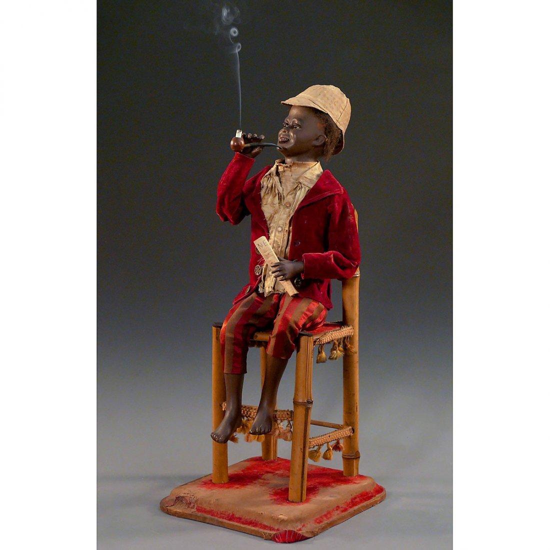 Nègre Fumeur Automaton by Roullet et Decamps, c. 1910 - 2