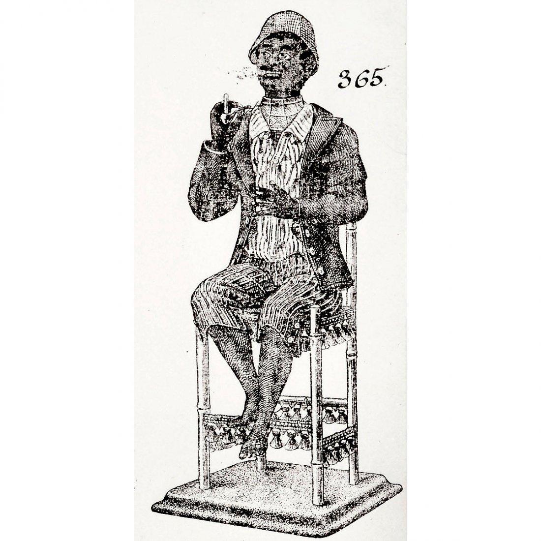 Nègre Fumeur Automaton by Roullet et Decamps, c. 1910 - 4