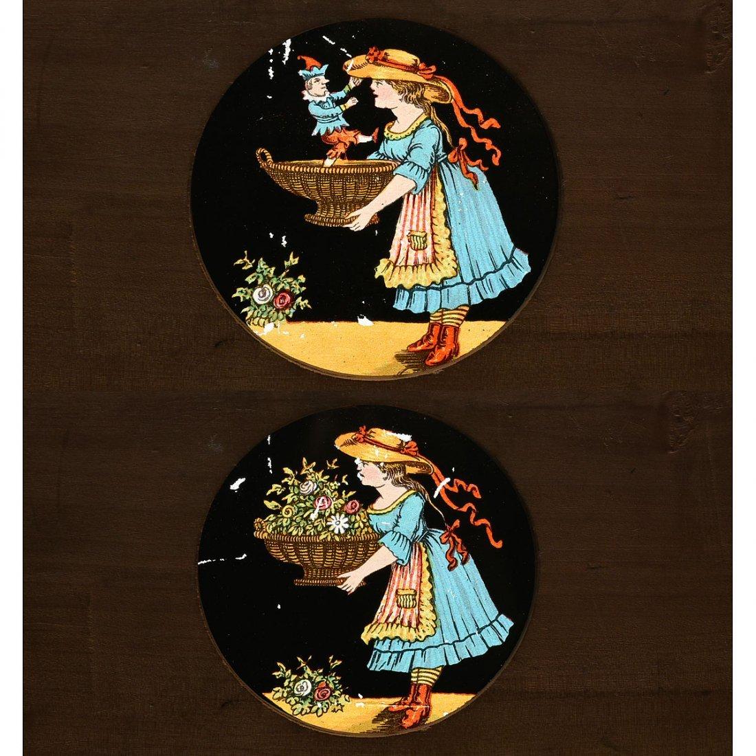 Bouquetière Surprise Musical Automaton by Lambert, c. - 3