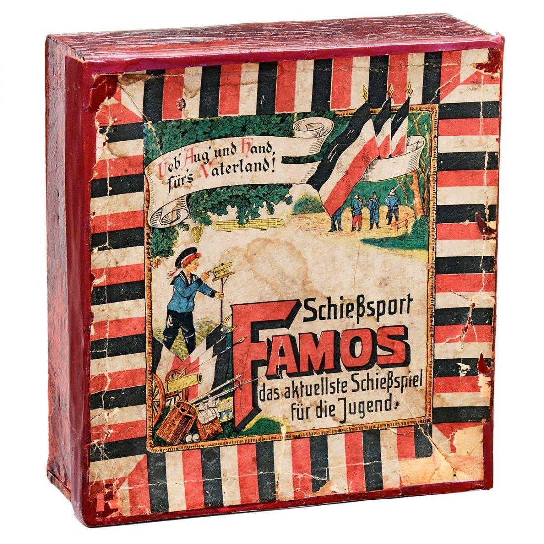 Famos Boxed Shooting Game, c. 1908 - 2