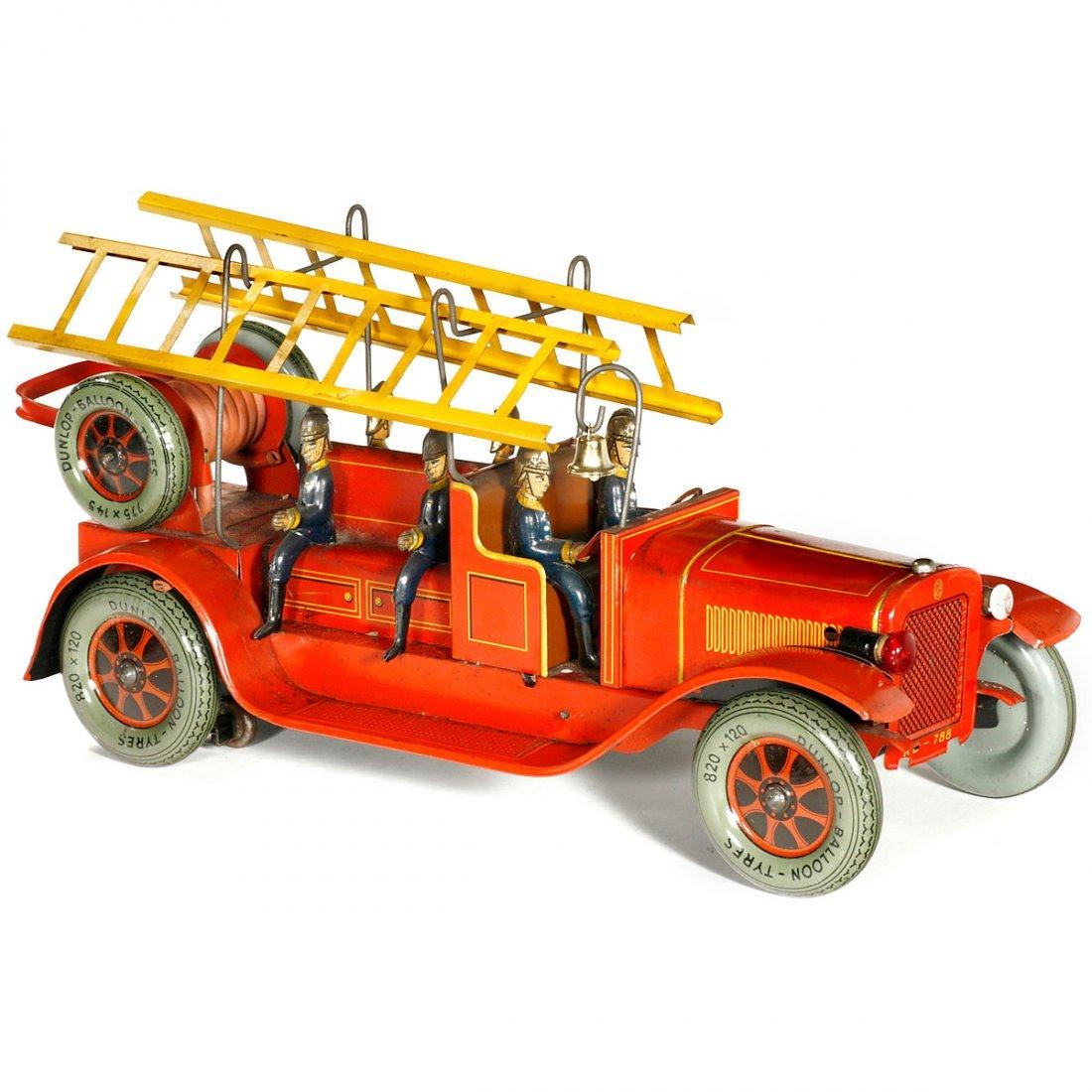 Fire Brigade Crew Wagon by Karl Bub