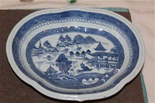 Antique Chinese 18th/ 19th Century Blue and White