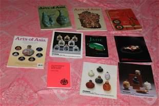 Lot of 10 Chinese Snuff Bottle Books / Magazines