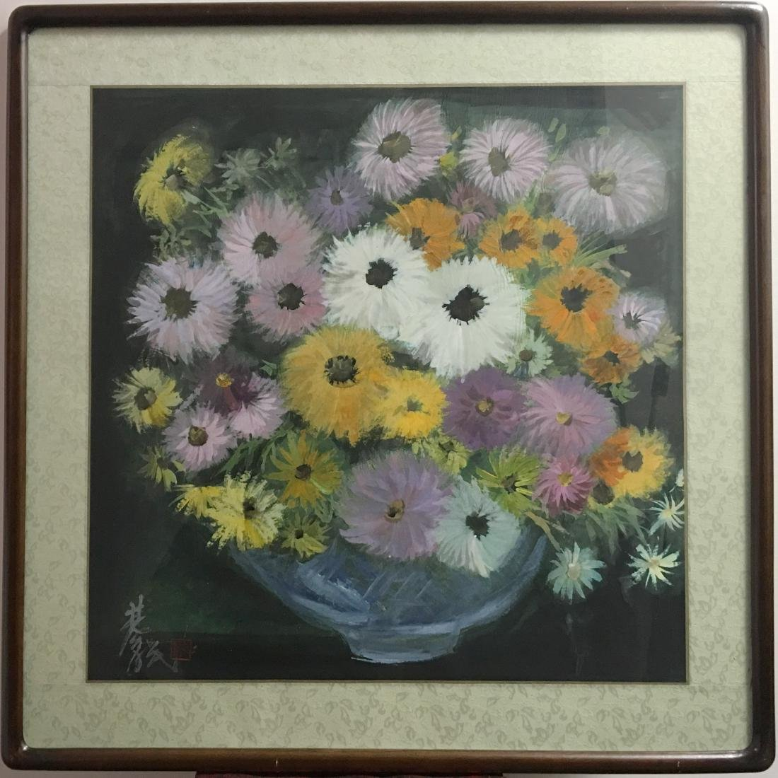 Lin Fengmian (1900-1991), Chrysanthemum