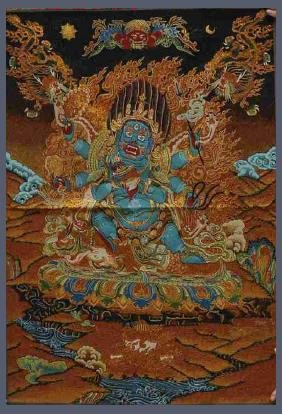 Tibetan Silk Thangka