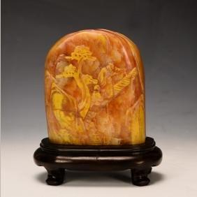Chinese Shou Shan Stone