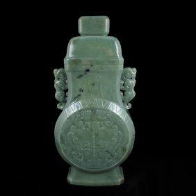 Chinese He Tian Jade Pendant