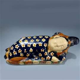 Chinese Tan Dynasty San Cai Figure