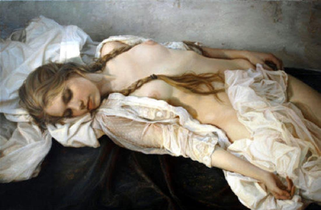 Oil Painting on Canvas, Nude Woman