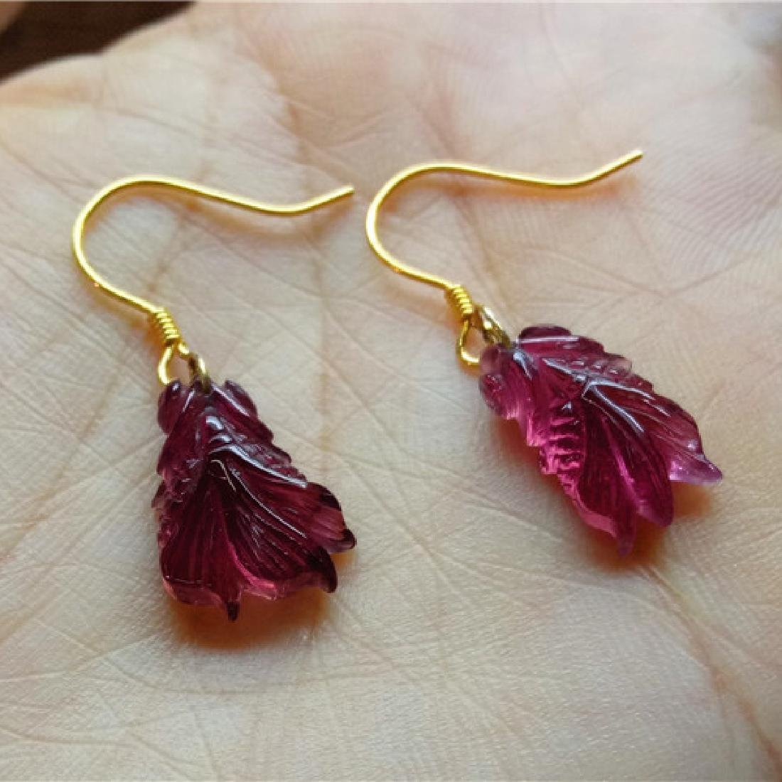 Pair of Tourmaline Earring