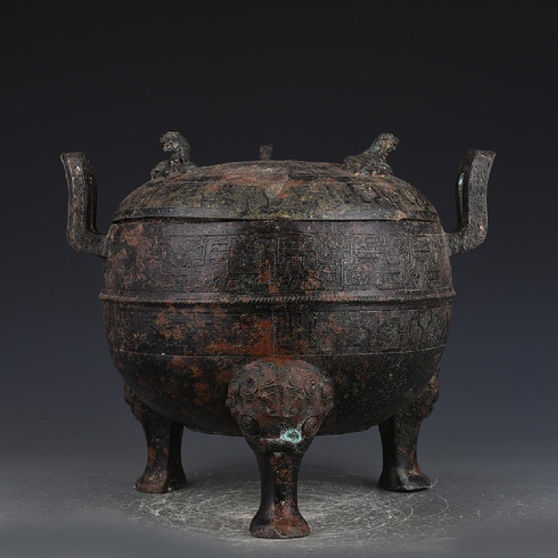 Chinese Antique Bronze Vessel