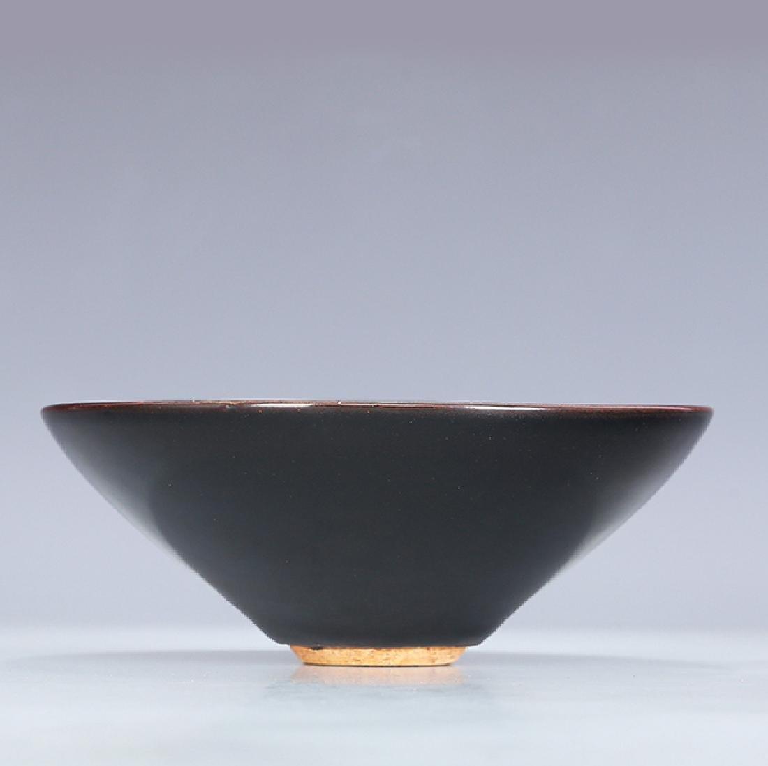 Chinese Song Jizhou kiln Tea Bowl