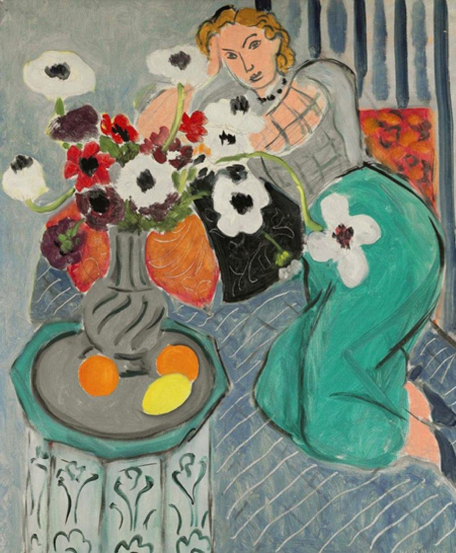 Oil Painting of Still Life and Women, Henri Matisse