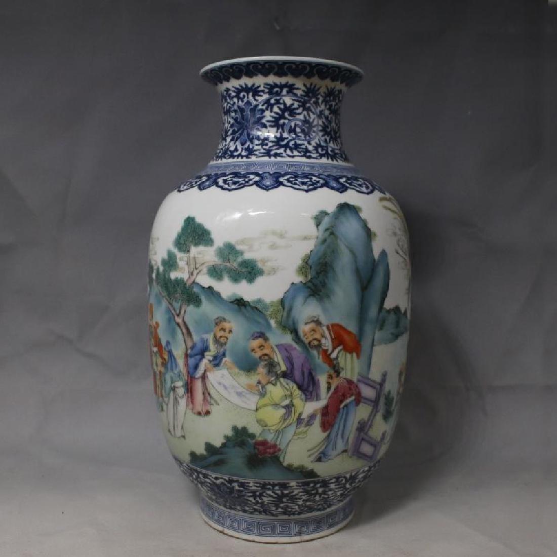 Chinese Famile Rose Jar