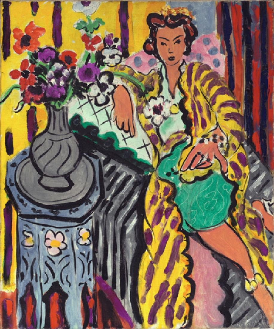 Oil Painting of Women Figure, Henri Matisse