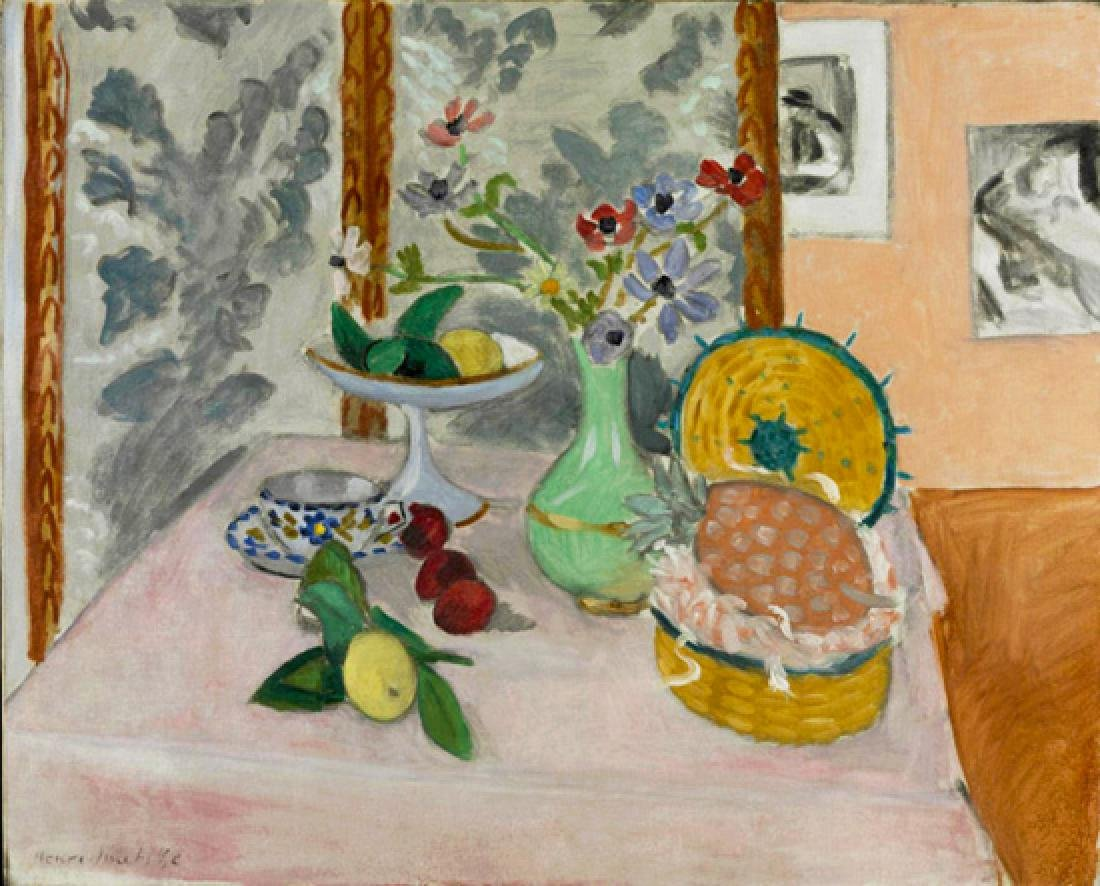 Oil Painting of Still Life, Henri Matisse