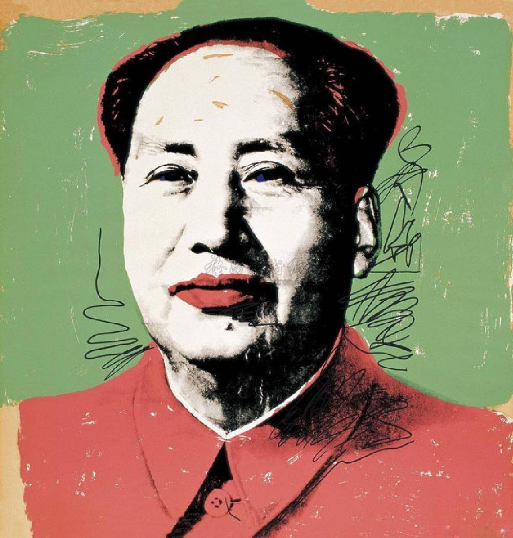 Pop Oil Painting of Chairman Mao, Andy Warhol