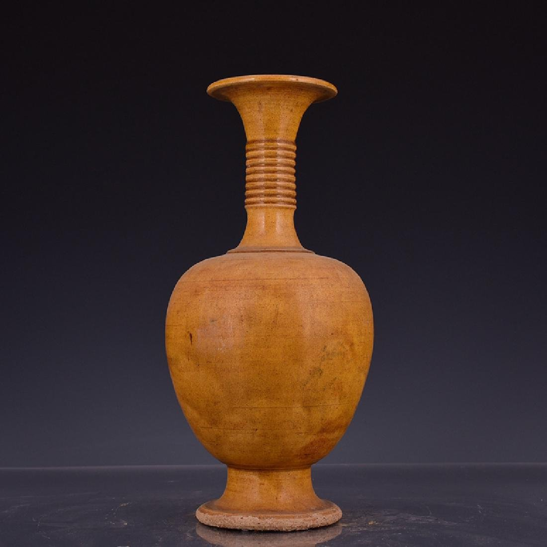 Chinese Yellow Glaze Vase
