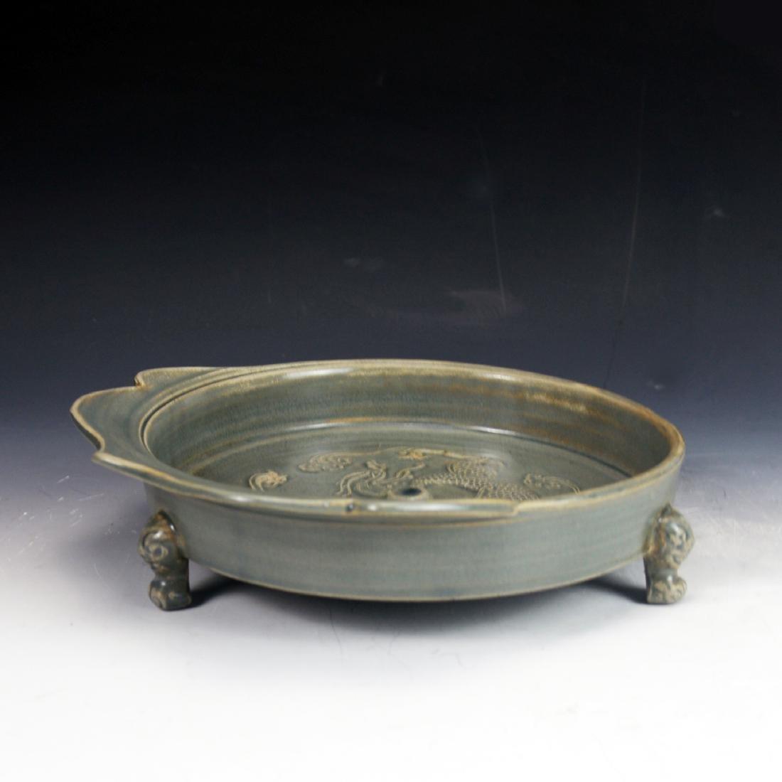 Chinese Dong Jing Period (317~420) Yue Yao Tripod