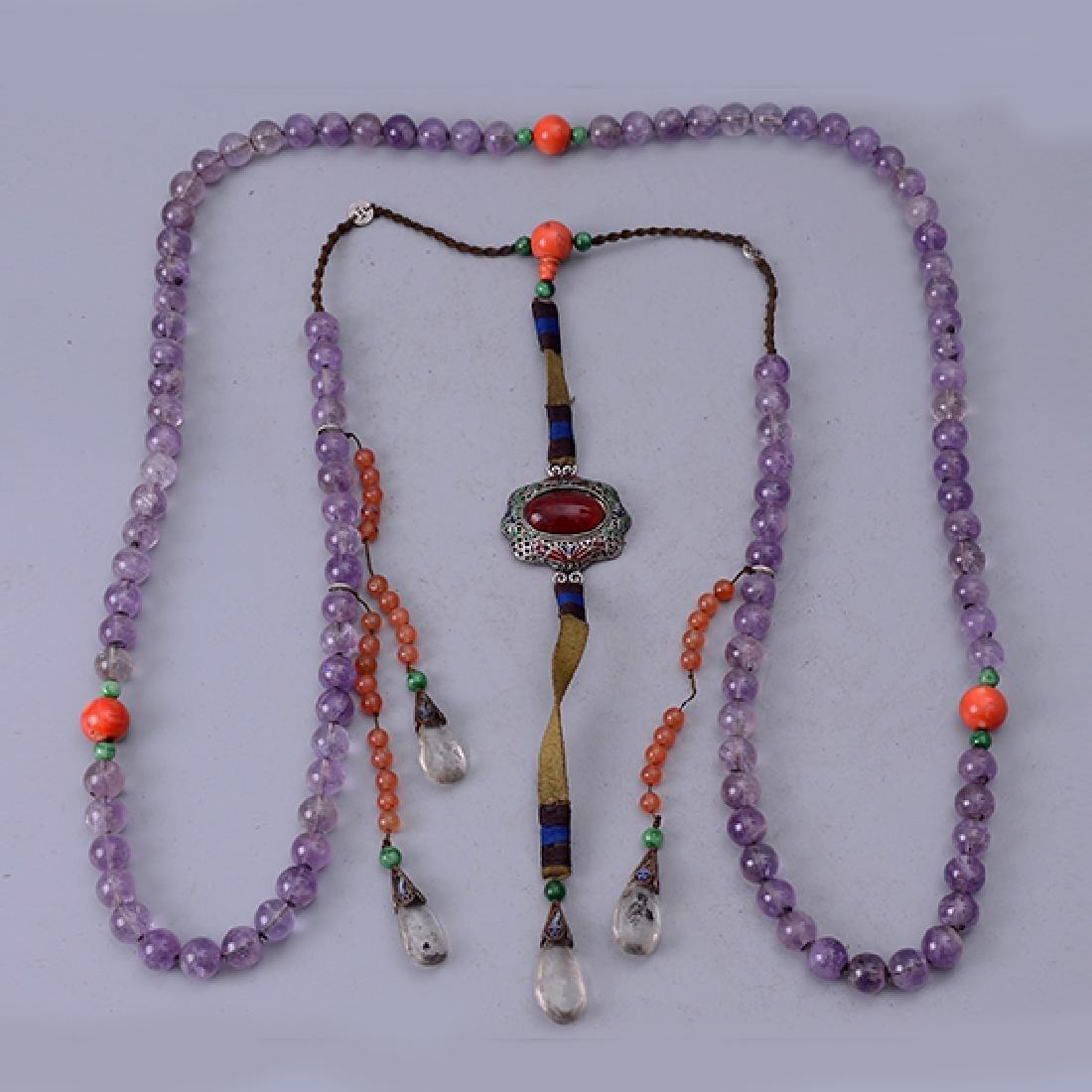 Chinese Amethyst Bracelet