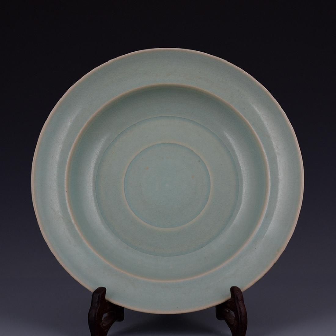 Chinese Ru Ware Rim Plate