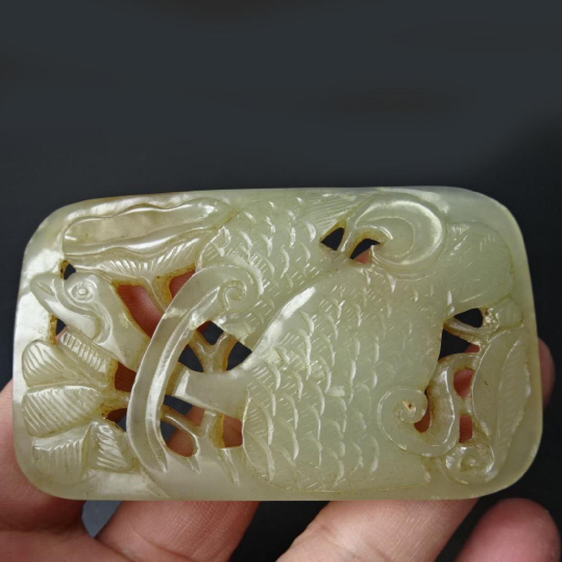 Chinese Hetian Jade Wild Goose