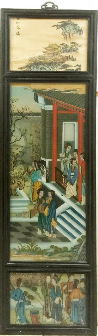 Chinese Reversion Painting of Figures
