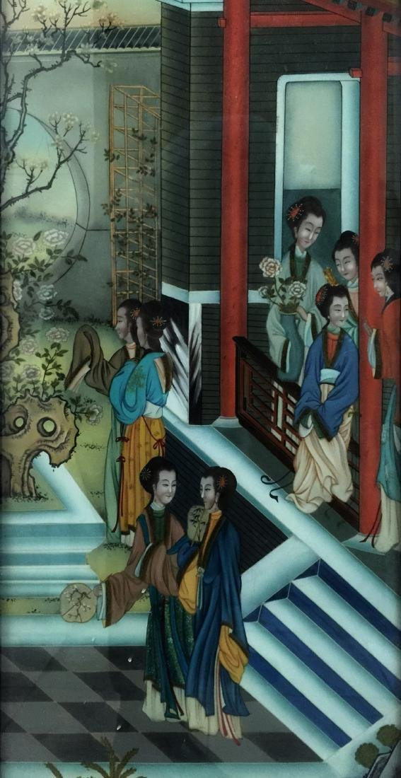 Chinese Reversion Painting of Figures - 2