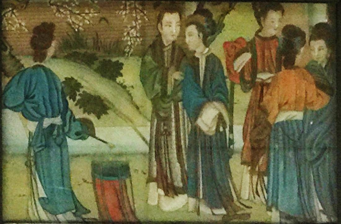 Chinese Reversion Painting of Figures - 4