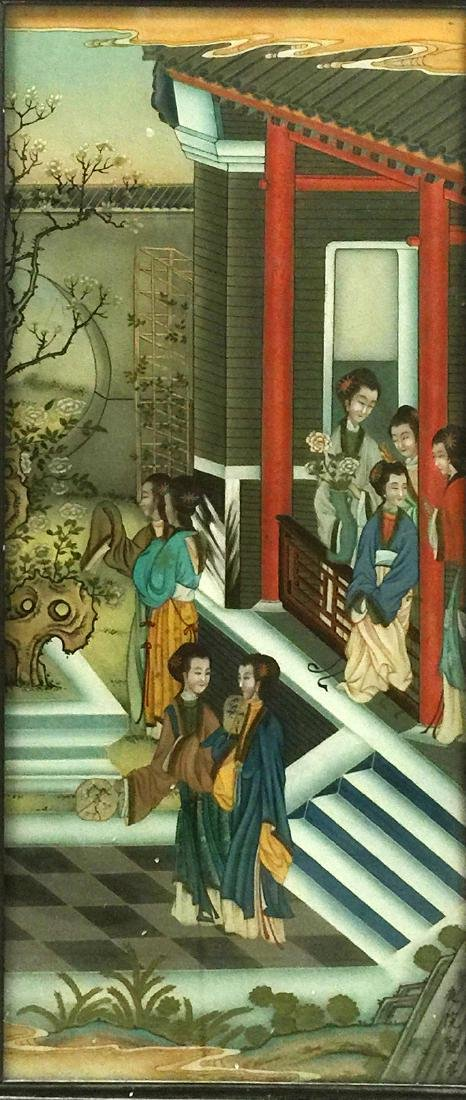 Chinese Reversion Painting of Figures - 5