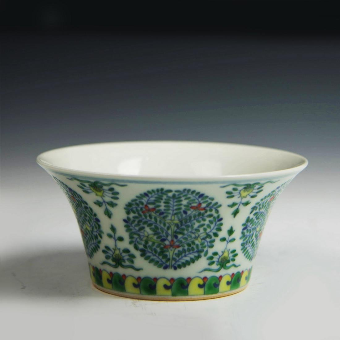Chinese DouCai 'MEDALLION' Bowl