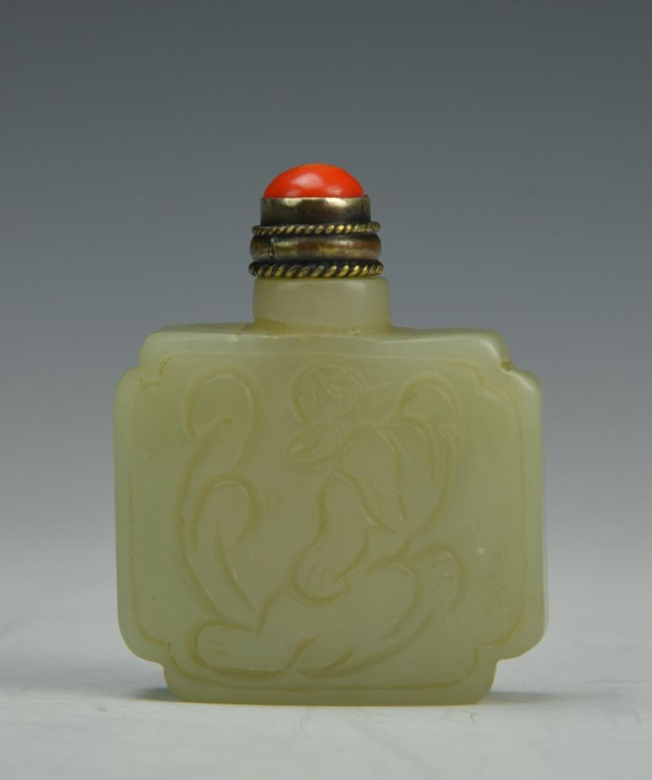 Chinese Jade Snaff Botlle