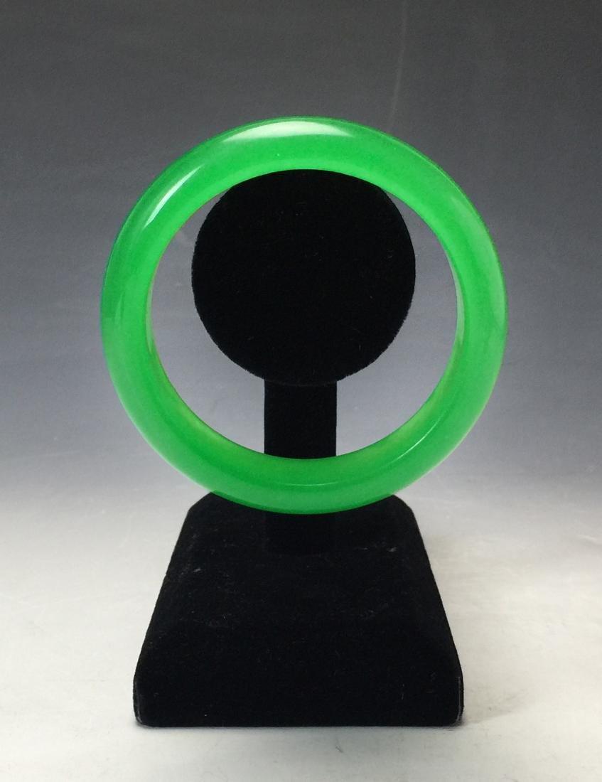 Chinese Green Bangle