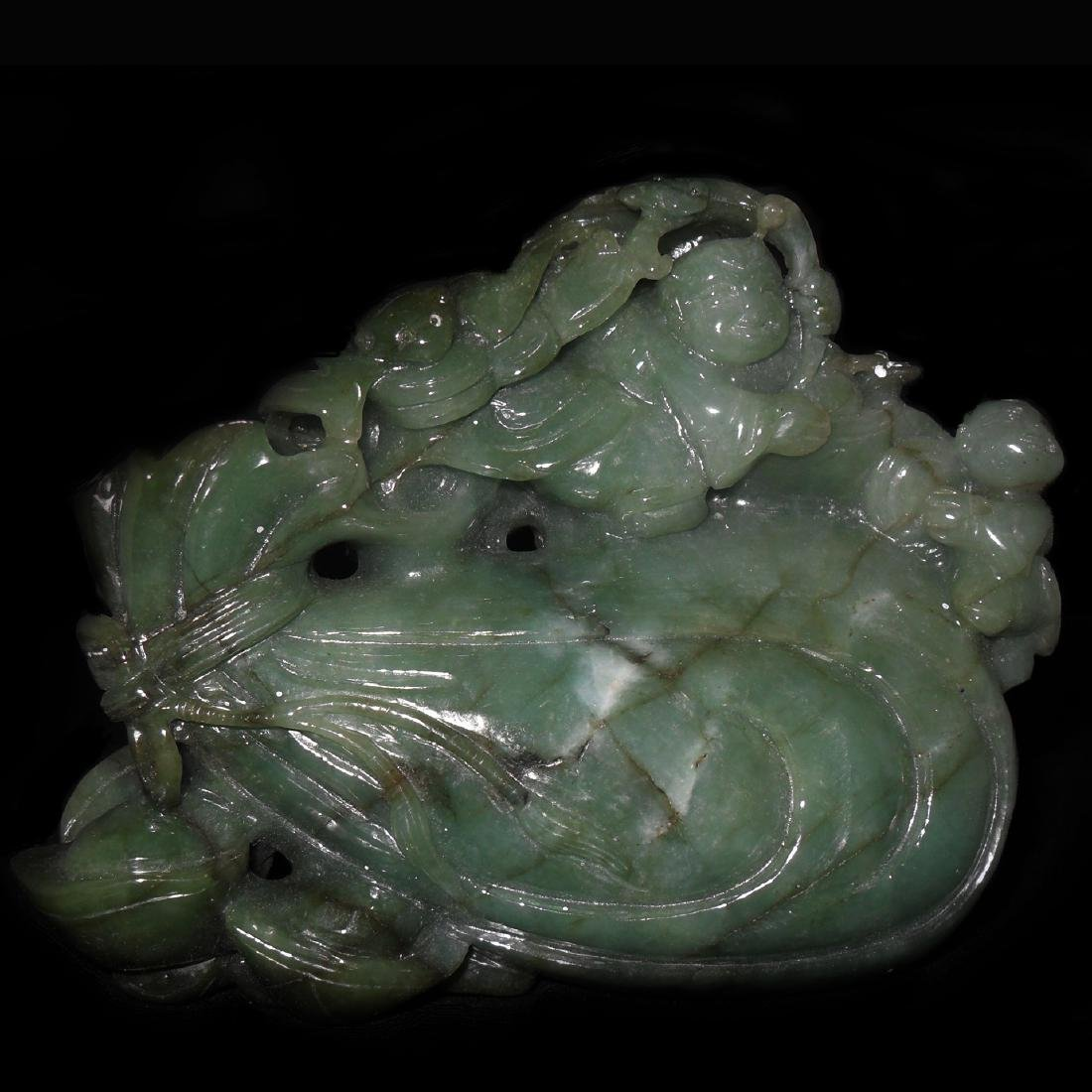 Chinese Jadeite Fruit Boulder