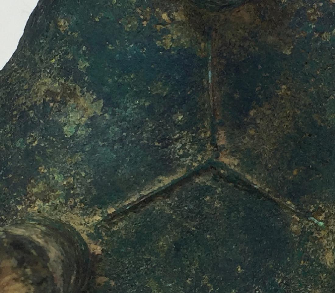 Chinese Archaic Bronze Tripod Censer - 5