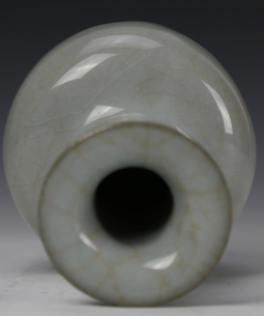 Chinese Celadon Glazed Vase - 4